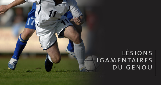lesion ligamentaire genou